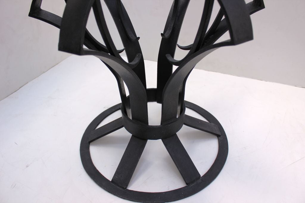 Arturo Pani Iron Focal Table 5
