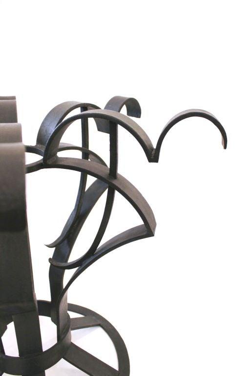 Arturo Pani Iron Focal Table 7