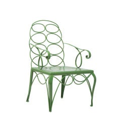 Dowtown Classics Collection Steel Frances Elkins Chair