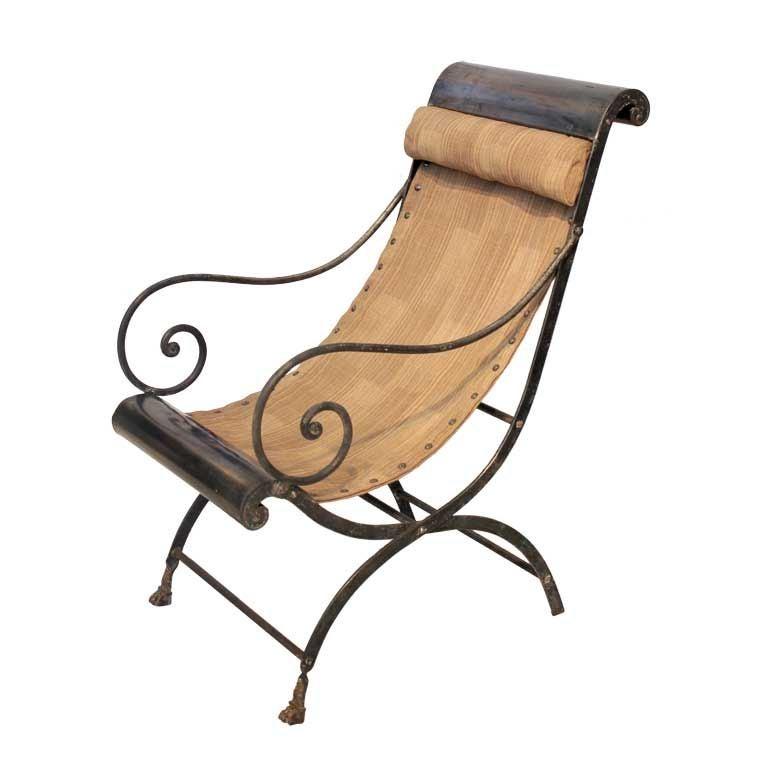 Maison Jansen Campagne Chair At 1stdibs