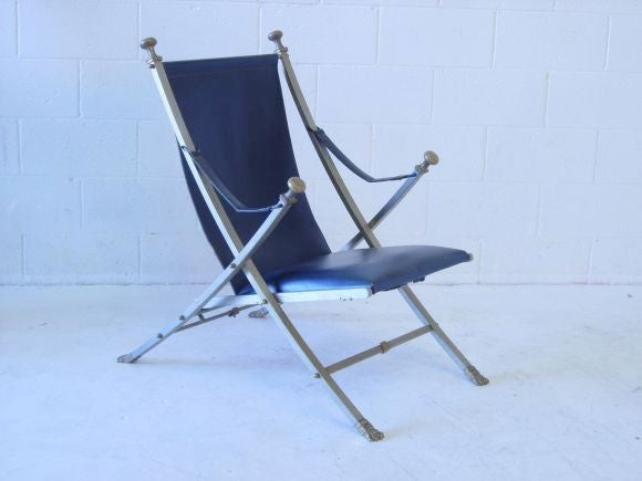 Late 20th Century Pair of Maison Jansen Armchairs For Sale