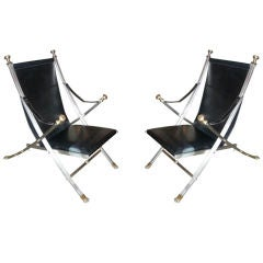 Pair of Maison Jansen Armchairs