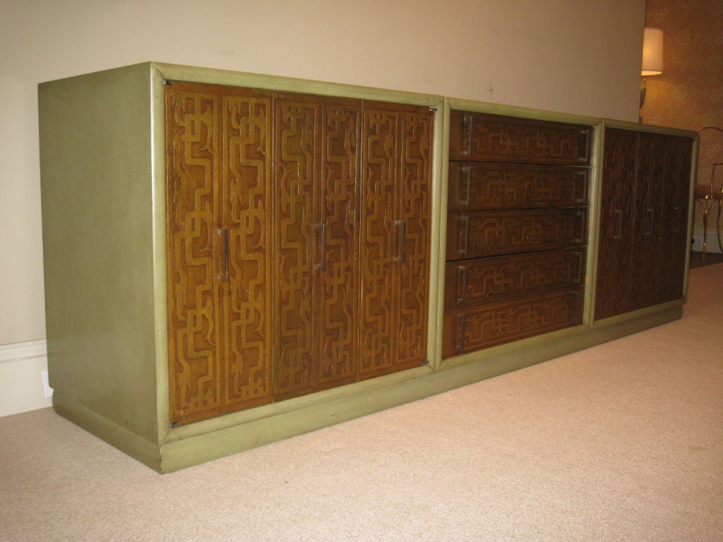 Renzo Rutili Gilt Cabinet for Johnson 2