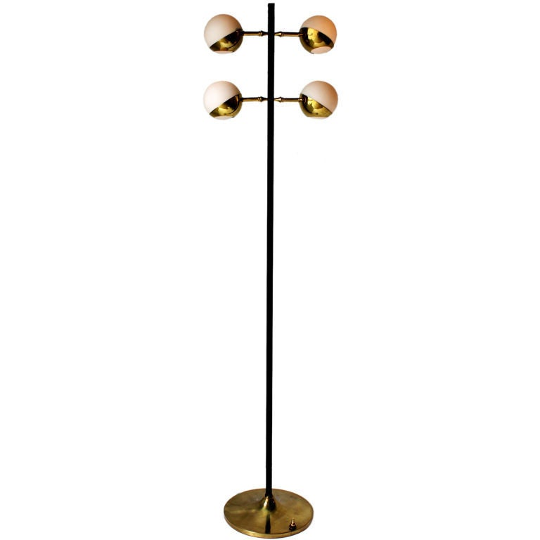 Rare Stilnovo Floor Lamp