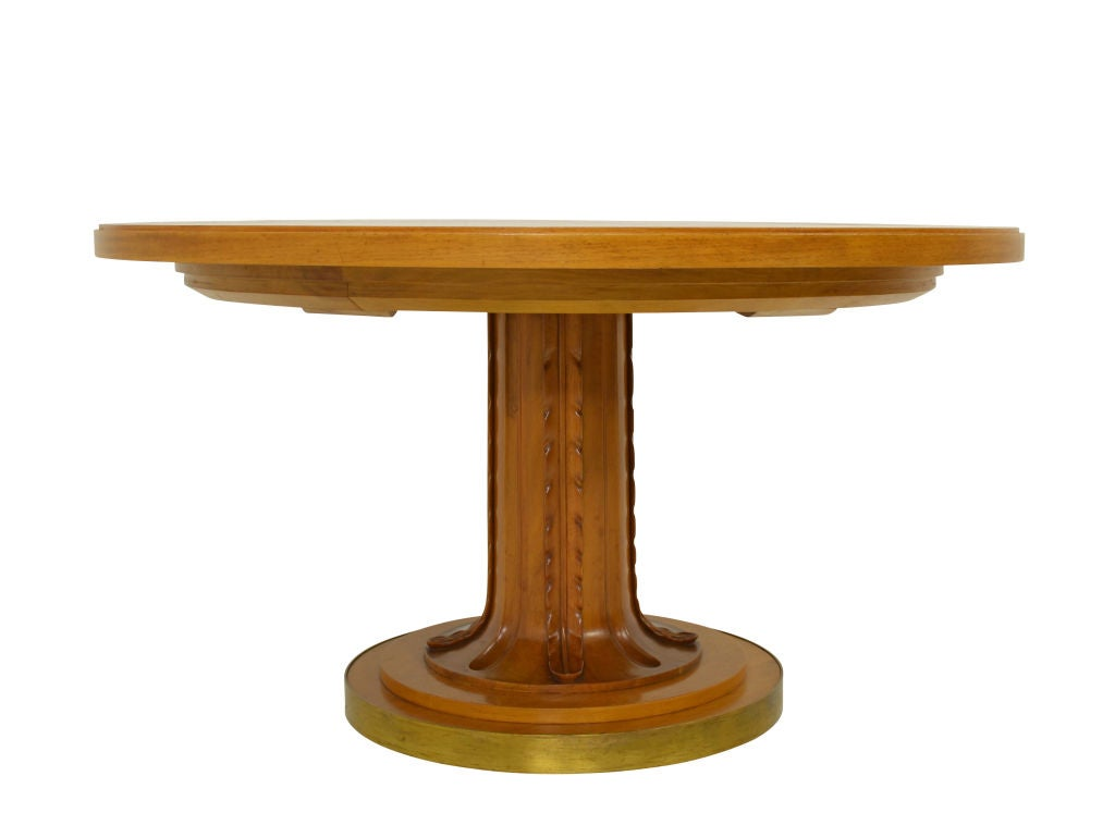 Rare t h robsjohn gibbings saridis dining table at 1stdibs for Dining at at t center