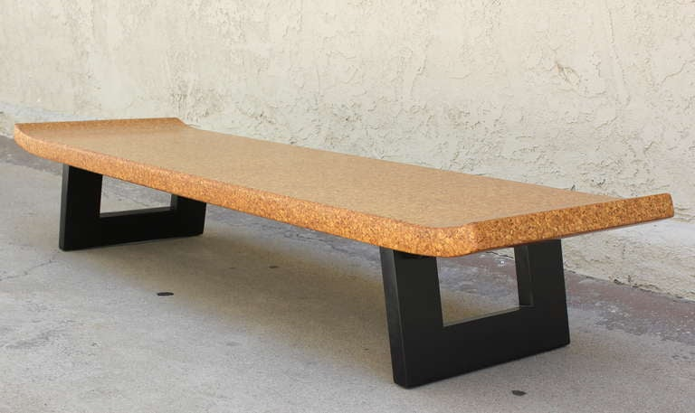 Paul Frankl Cork Top Bench or Table 5