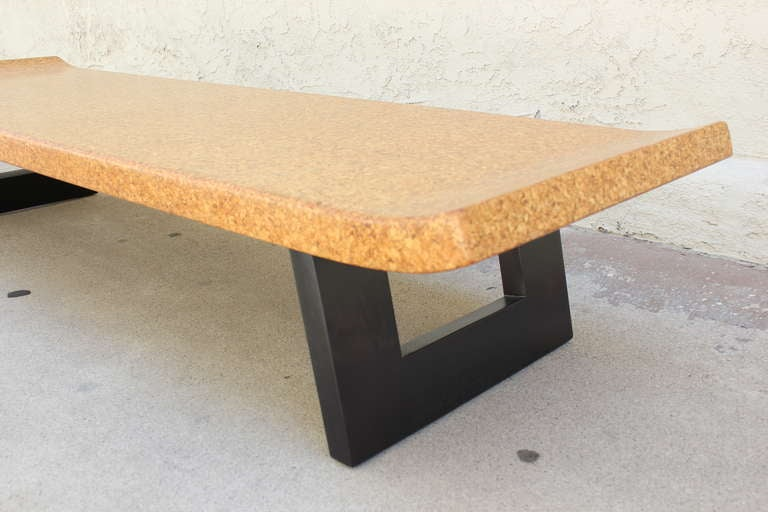 Paul Frankl Cork Top Bench or Table 3
