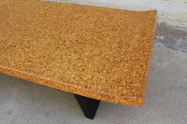 Paul Frankl Cork Top Bench or Table 4