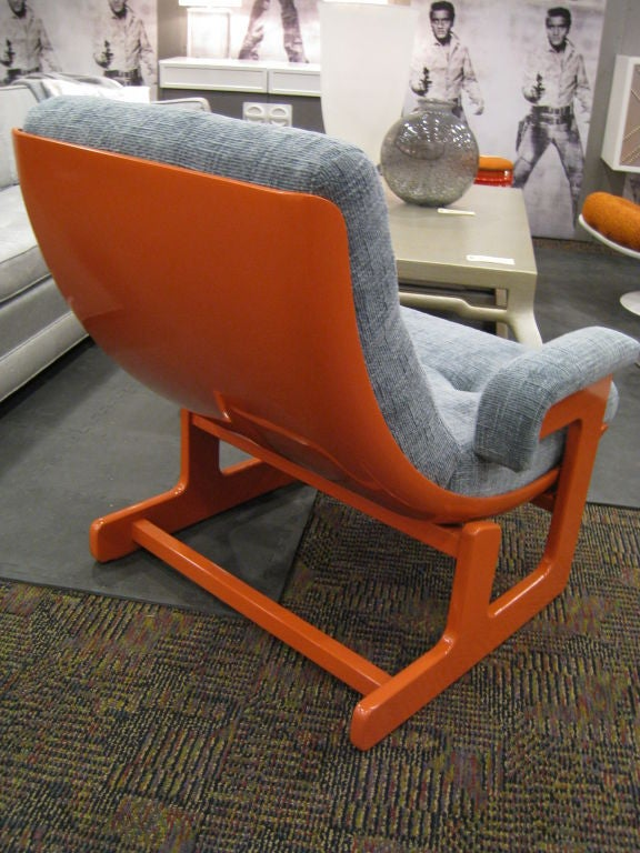 Ponti & Turchini Lounge Chair In Excellent Condition For Sale In Los Angeles, CA