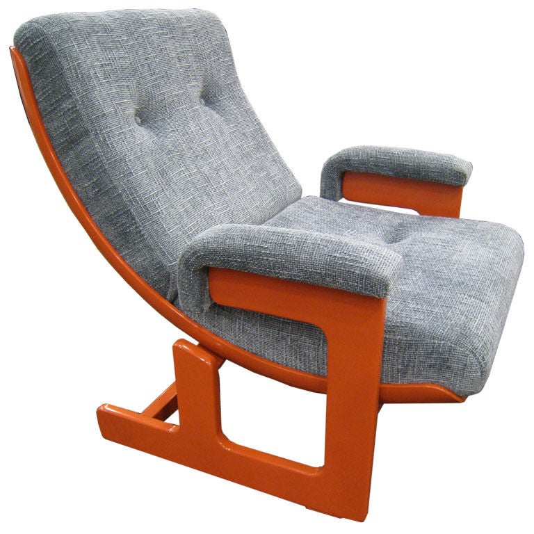 Ponti & Turchini Lounge Chair For Sale