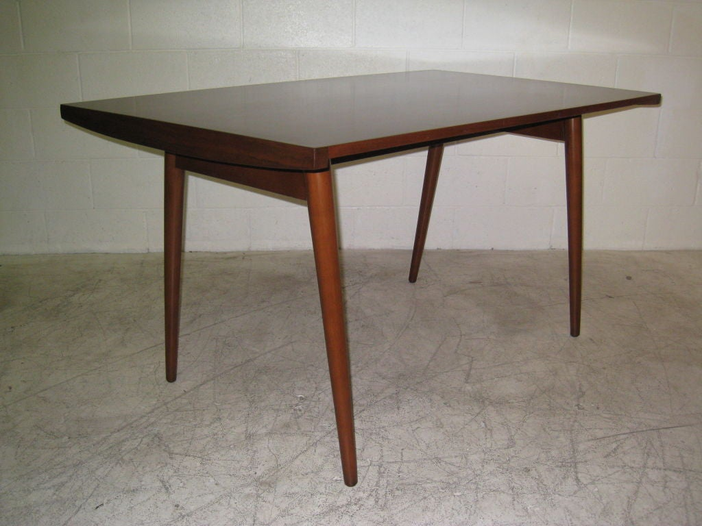 george nakashima for knoll walnut dining table for sale at 1stdibs