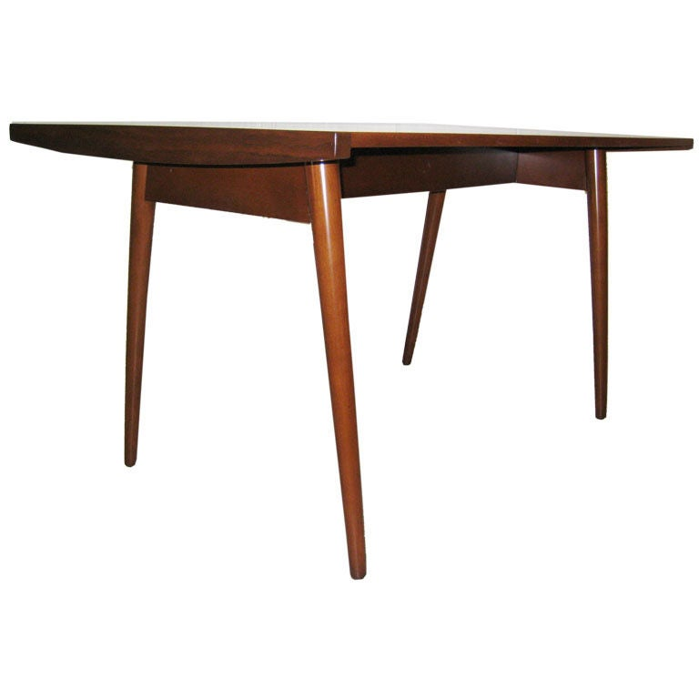 Extremely Rare George Nakashima for Knoll Walnut Dining Table For