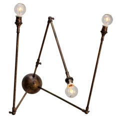 Downtown Classics Collection Daddy Long Legs Sconce