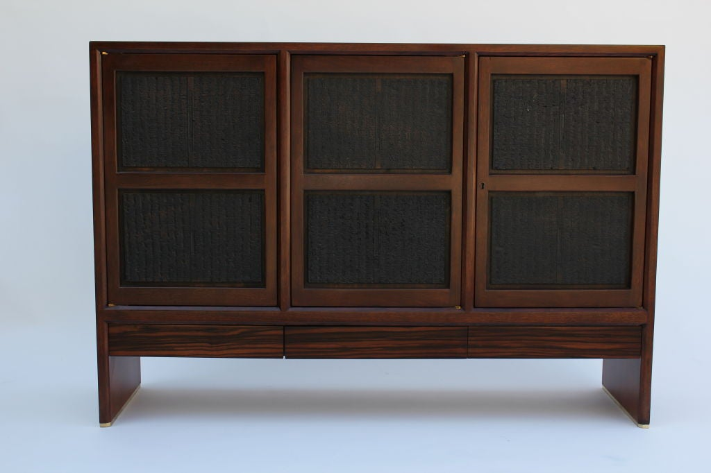 Mid-20th Century Edward Wormley for Dunbar Janus Collection Cabinet For Sale
