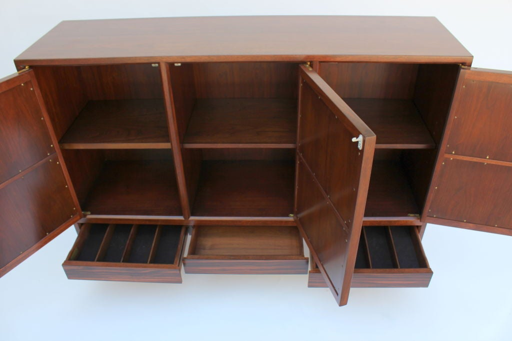 American Edward Wormley for Dunbar Janus Collection Cabinet For Sale