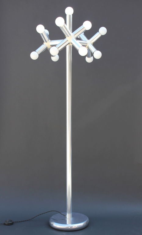 Mid-20th Century Robert Hausmann Kristall Floor Lamp