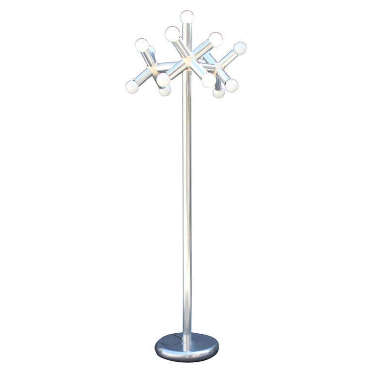 Robert Hausmann Kristall Floor Lamp