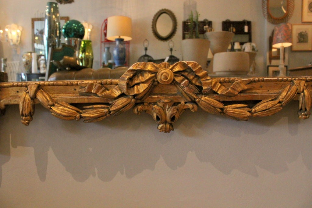 6 Foot 19th Century French Pier Mirror At 1stdibs