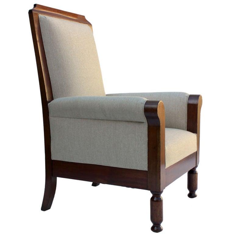 Large English Regency Armchair