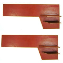 Pair of Gio Ponti Shelf Units