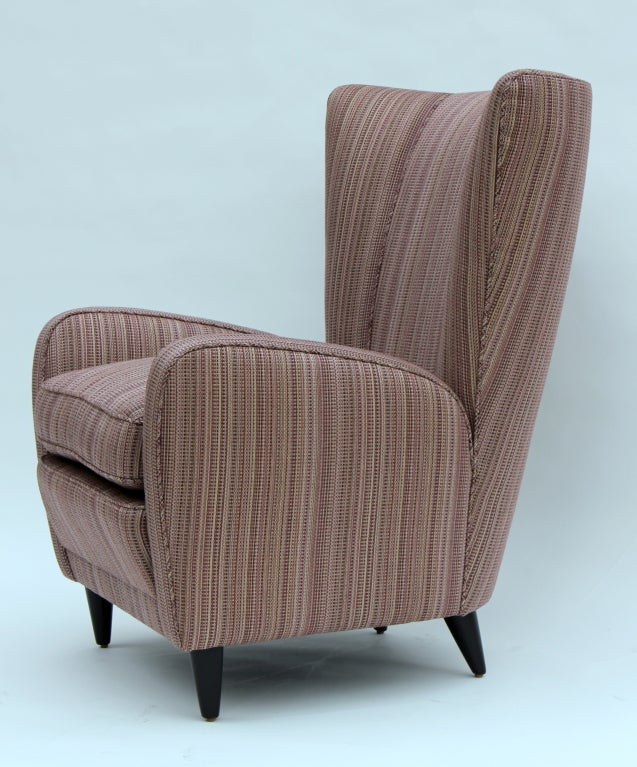 Italian Pair of Paolo Buffa Chairs For Sale