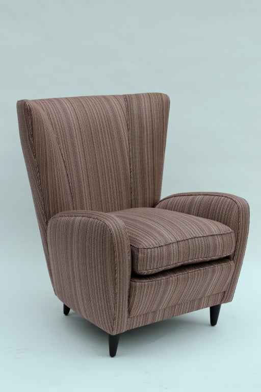 Mid-20th Century Pair of Paolo Buffa Chairs For Sale