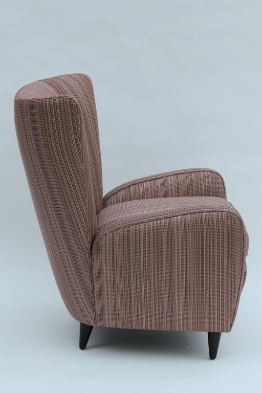 Wood Pair of Paolo Buffa Chairs For Sale