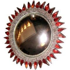 """Line Vautrin Mirror """"Soleil A Pointes N 1"""""""
