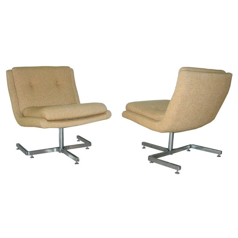 Pair of Raphael Lounge Chairs