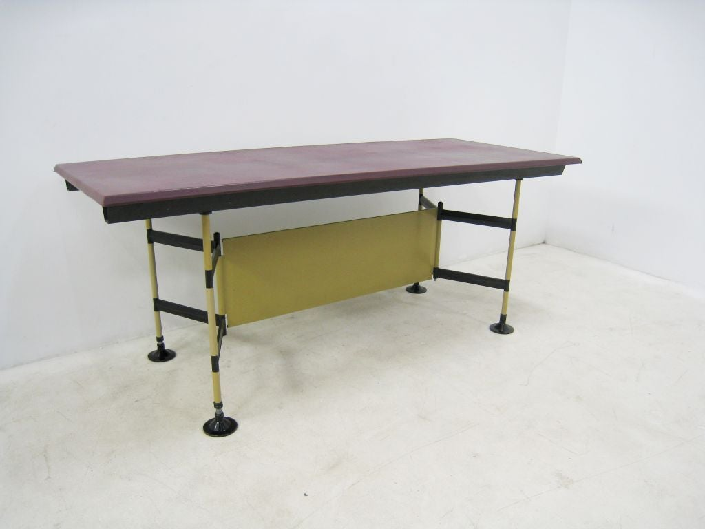 "Studio BBPR ""Spazio"" Work Table by Olivetti 2"