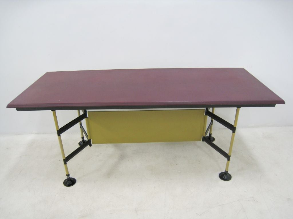 "Studio BBPR ""Spazio"" Work Table by Olivetti 3"