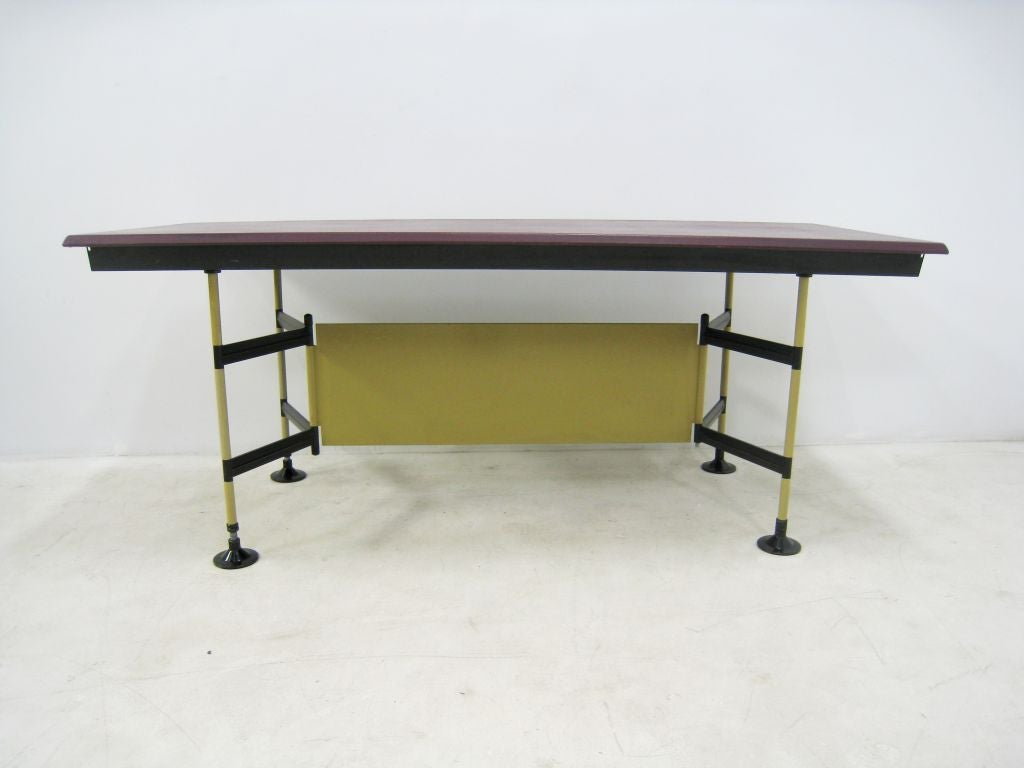 "Studio BBPR ""Spazio"" Work Table by Olivetti 9"