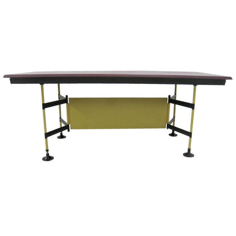 Studio bbpr spazio work table by olivetti for sale at for Furniture work table