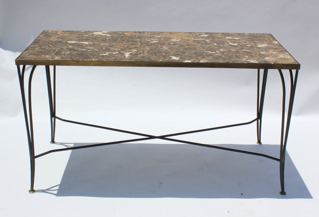 Arturo Pani Table and Chairs For Sale 2