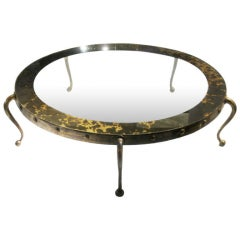 Large Arturo Pani Bronze Cocktail Table