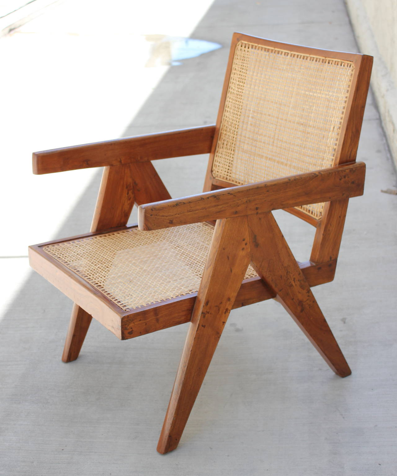 "Pierre Jeanneret ""Easy"" Chair at 1stdibs"
