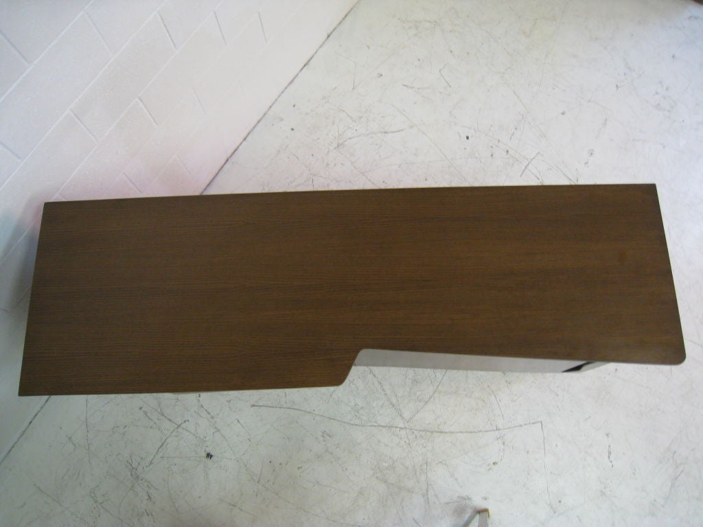 Ico Parisi Teak Cabinet In Excellent Condition For Sale In Los Angeles, CA