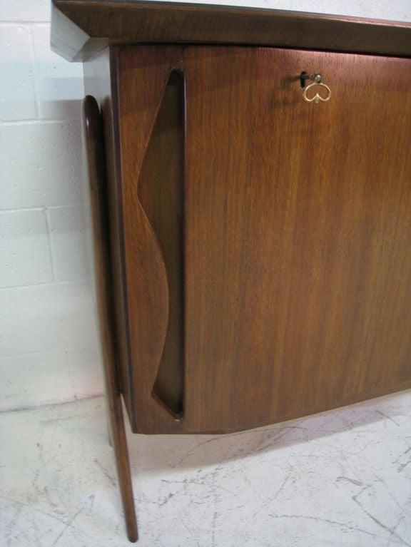 Mid-20th Century Ico Parisi Teak Cabinet For Sale