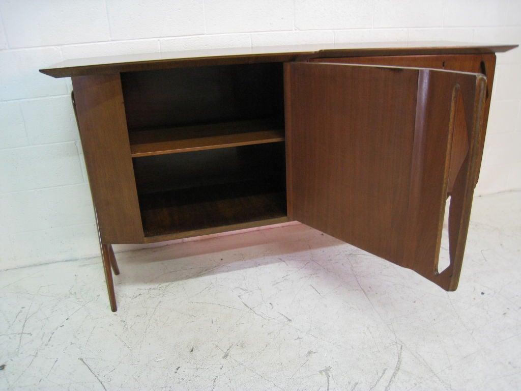 Ico Parisi Teak Cabinet For Sale 1