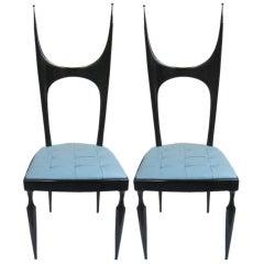 Pair of Pozzi and Verga Chairs
