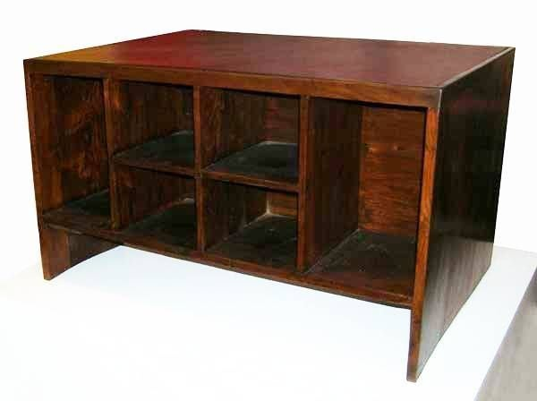 Indian Pierre Jeanneret Desk from Chandigarh For Sale