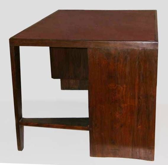 Mid-20th Century Pierre Jeanneret Desk from Chandigarh For Sale