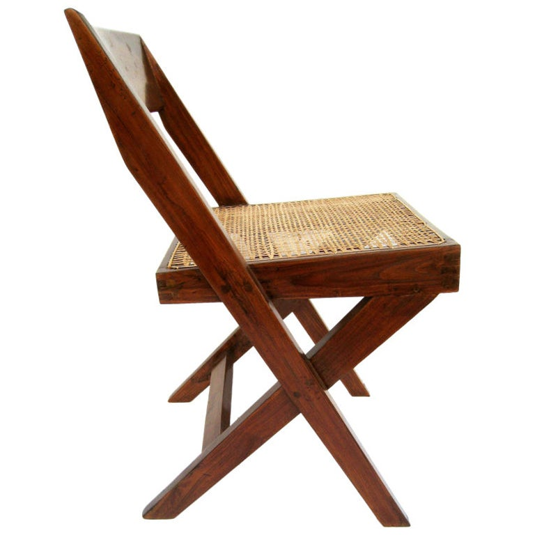 Pierre Jeanneret Library Chair