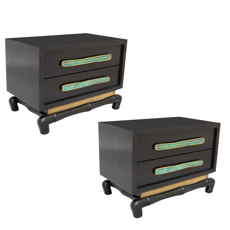 Pair of Frank Kyle Cabinets 1