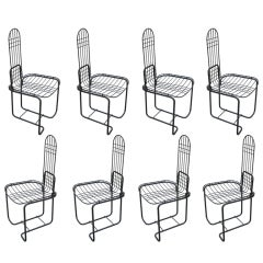Set of 8 Italian  Dining Chairs