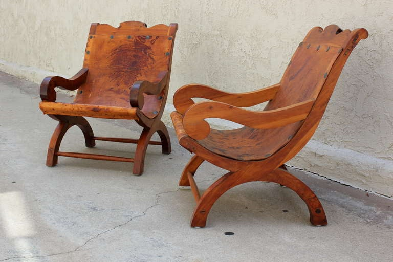 "Pair of ""Miguelito"" Butaque Chairs 2"