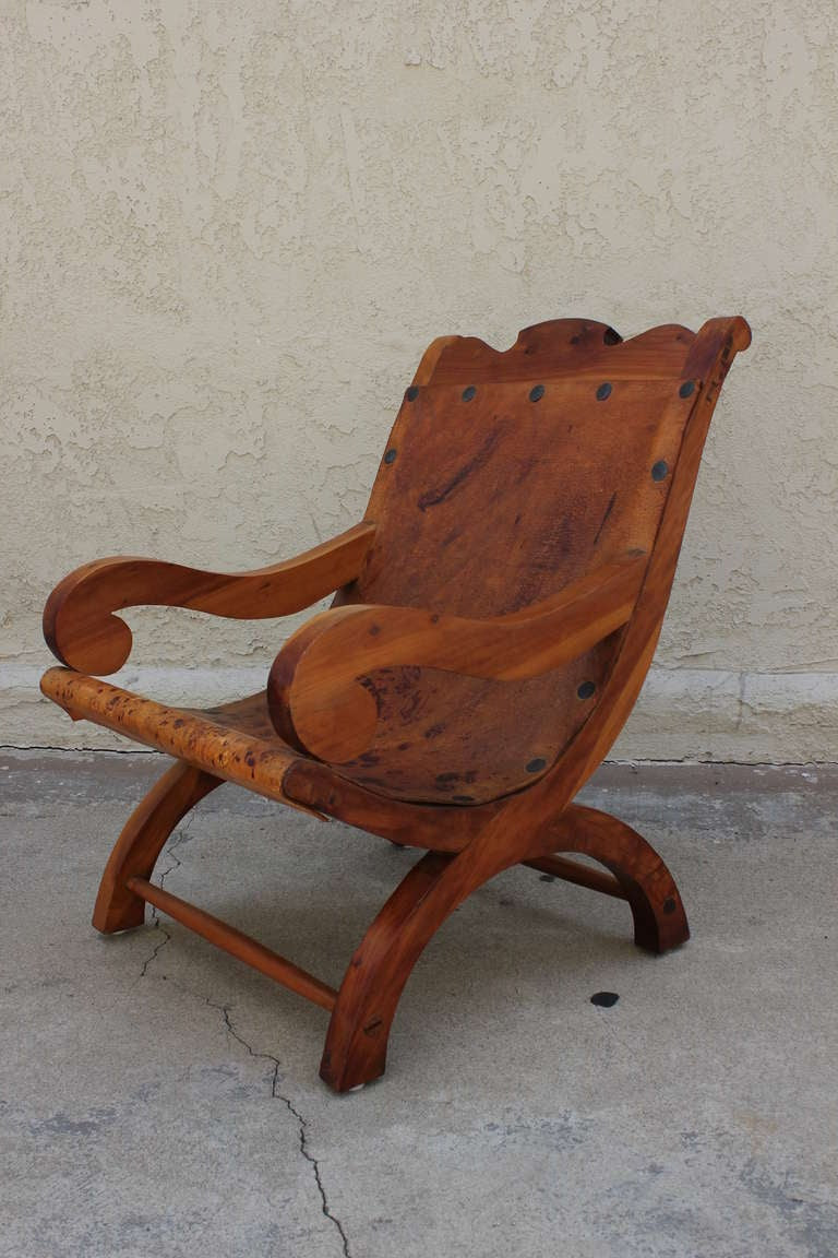 "Pair of ""Miguelito"" Butaque Chairs 6"