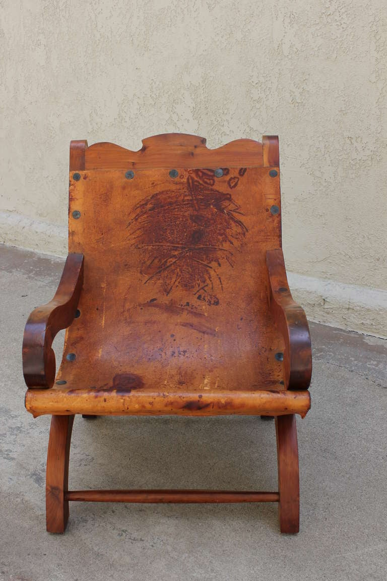 "Pair of ""Miguelito"" Butaque Chairs 3"