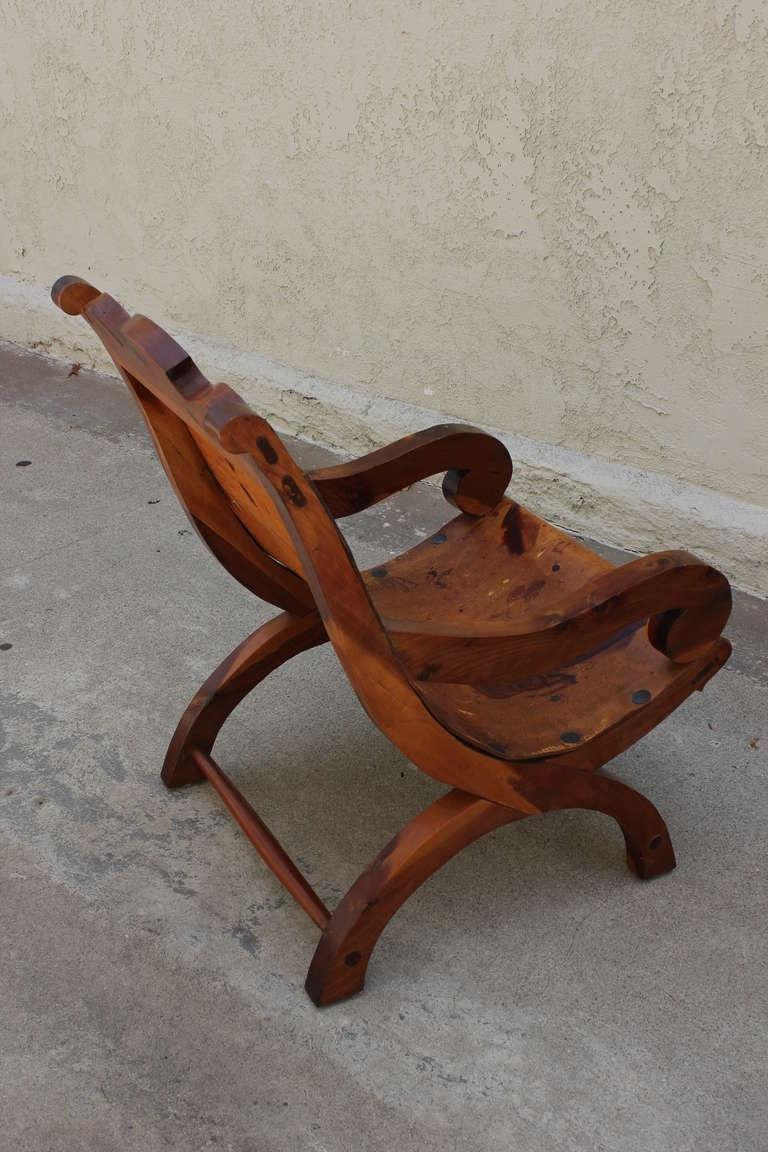 "Pair of ""Miguelito"" Butaque Chairs 4"