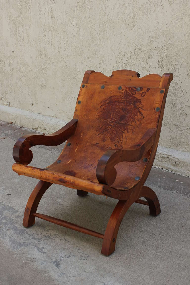 "Pair of ""Miguelito"" Butaque Chairs 5"